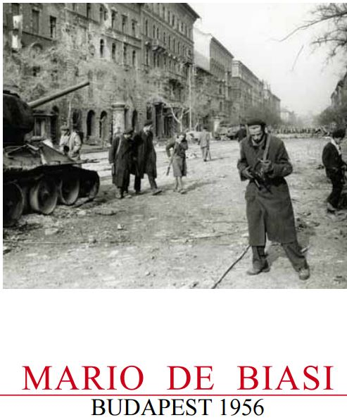 Mostra fotografica  MARIO DE BIASI – BUDAPEST 1956